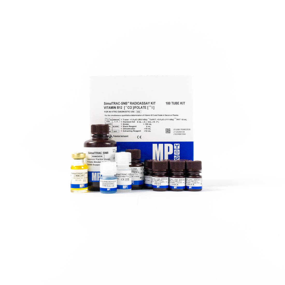 SimulTRAC SNB Vitamin B12 Folate RIA Kit