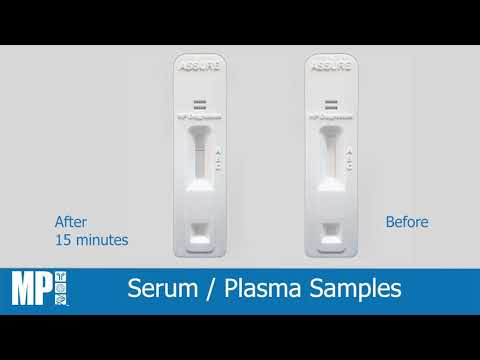 ASSURE SARS-CoV-2 Antibody rapid test kit - user instructional video [MP Biomedicals Asia Pacific]